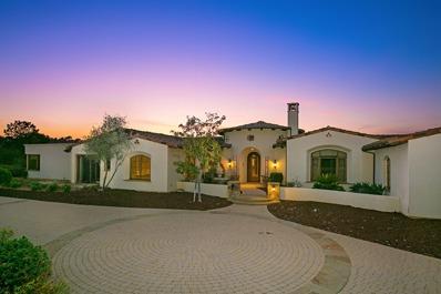 17588 Ranchito Del Rio, Rancho Santa Fe, CA 92067 - #: P111YLF