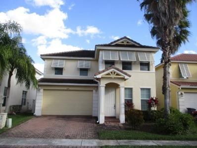 464 Belle Grove Lane, Royal Palm Beach, FL 33411 - #: P112AKJ