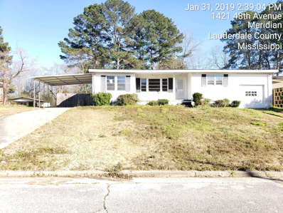1420 48TH Ave, Meridian, MS 39307 - #: P112CW8