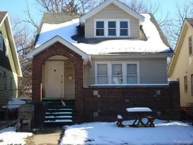 9192 Pinehurst Street, Detroit, MI 48204 - #: P112GPB